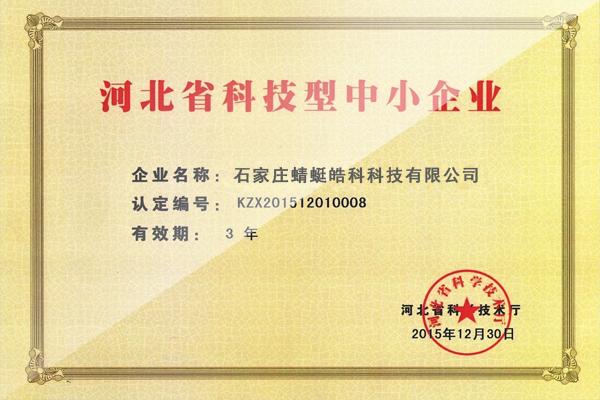 河北省科技型中小企业认定